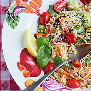 Chef Bec's Fireworks Orzo Salad