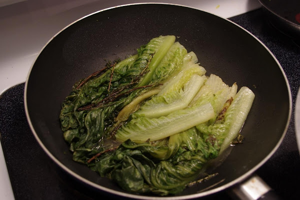 Sauteed Romaine With Oyster Sauce Recipe