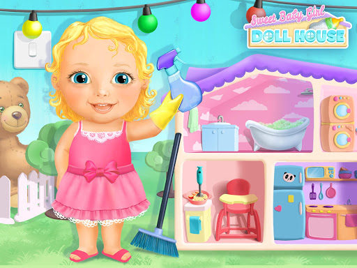 Sweet Baby Girl Doll House - Play, Care & Bed Time 1.0.76 screenshots 24