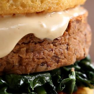 1. Mason Jar Cornbread Burger