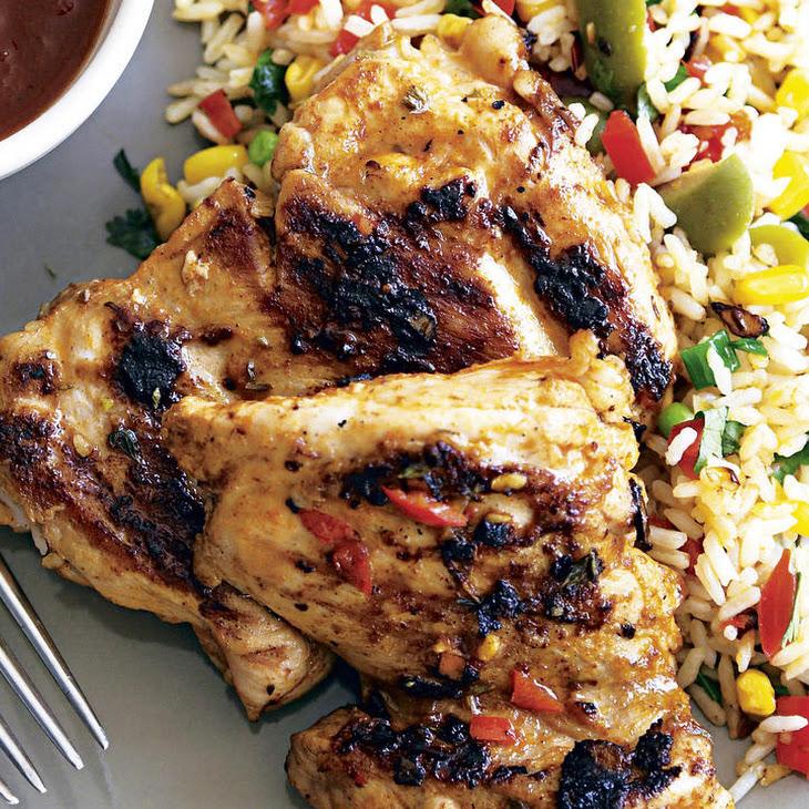 Grilled Portuguese Chicken