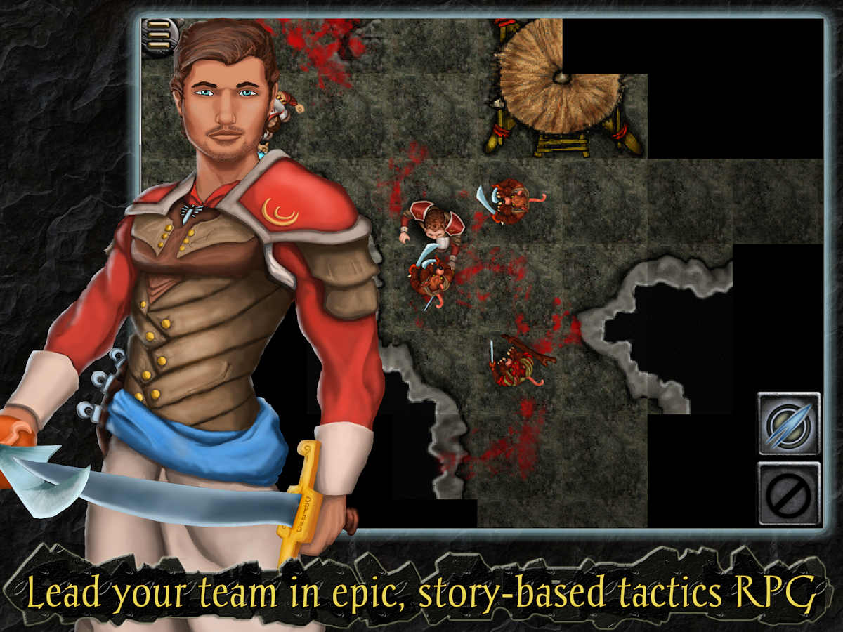 Heroes of Steel RPG- screenshot