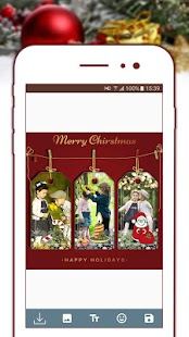 Christmas Holiday Photo Frames - náhled