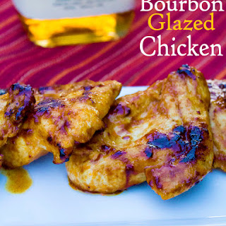 Bourbon Glazed Chicken
