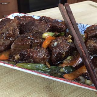 Amazing Mongolian Beef.