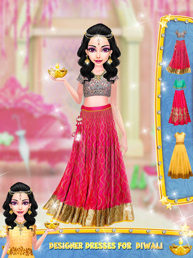 Diwali Celebration -Indian Fashion Family Festival for PC