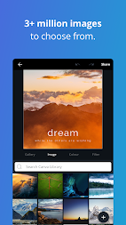 Canva: Poster, banner, card maker & graphic design APK screenshot thumbnail 7