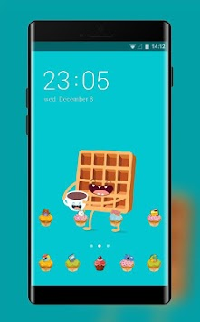 Download Sweet Cartoon ColorOS Launcher Theme for Oppo APK latest