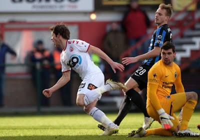 Le KV Courtrai inflige au Club Bruges sa deuxième défaite de la saison (2-0)