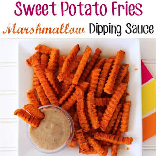 Marshmallow Dipping Sauce for Sweet Potato Fries.