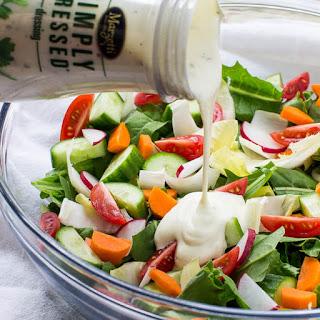 Easy Garden Salad.