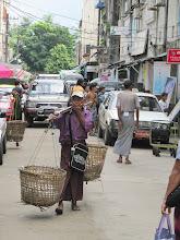 Photo: Year 2 Day 60 - A Vendor in Yangon