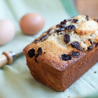 Raisin Butter Cake.
