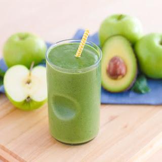 Green Apple Smoothie.