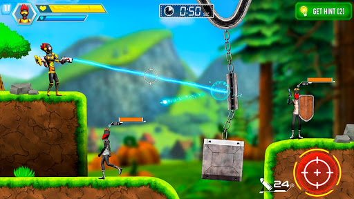 Mr Shooter Offline Game -Puzzle Adventure New Game modavailable screenshots 1