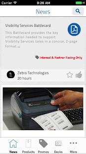 Z-Mobile - Zebra's Mobile App - náhled