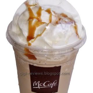 McDonald's Caramel Frappe.