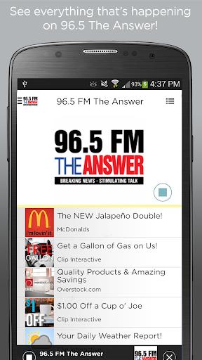 96.5 FM The Answer