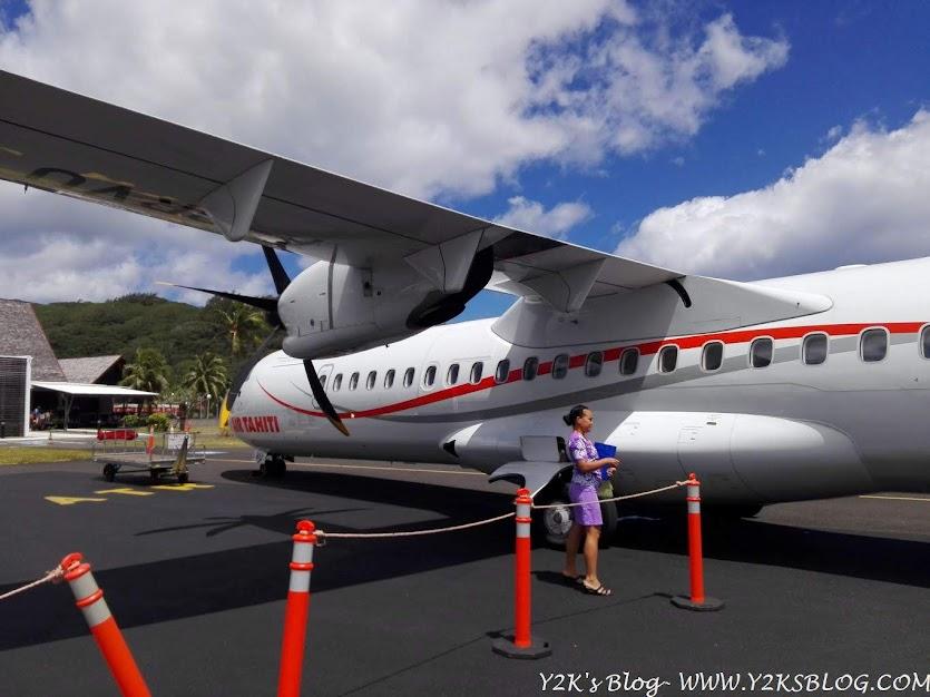 Il vettore locale Air Tahiti