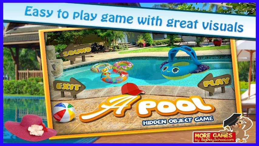 android A Pool - Finding Hidden Object Screenshot 3