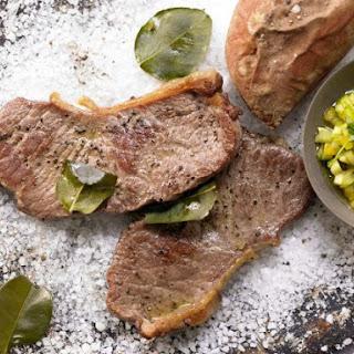 Steaks on a Bed of Salt Recipe
