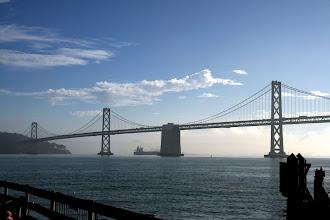 Photo: Not the Golden Gate Bridge, but the San Francisco–Oakland Bay Bridge