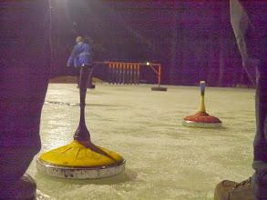 Photo: Eisstockschießen dann am Abend, 30.12.13