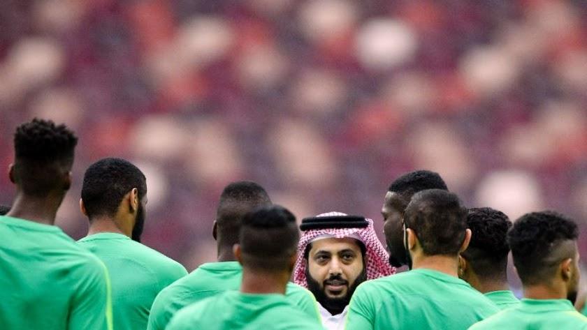 Turki Al-Sheikh compró hace un año el Pyramids FC.