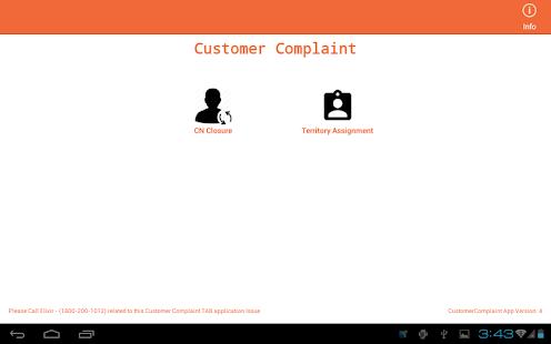 Customer-Complaint 1