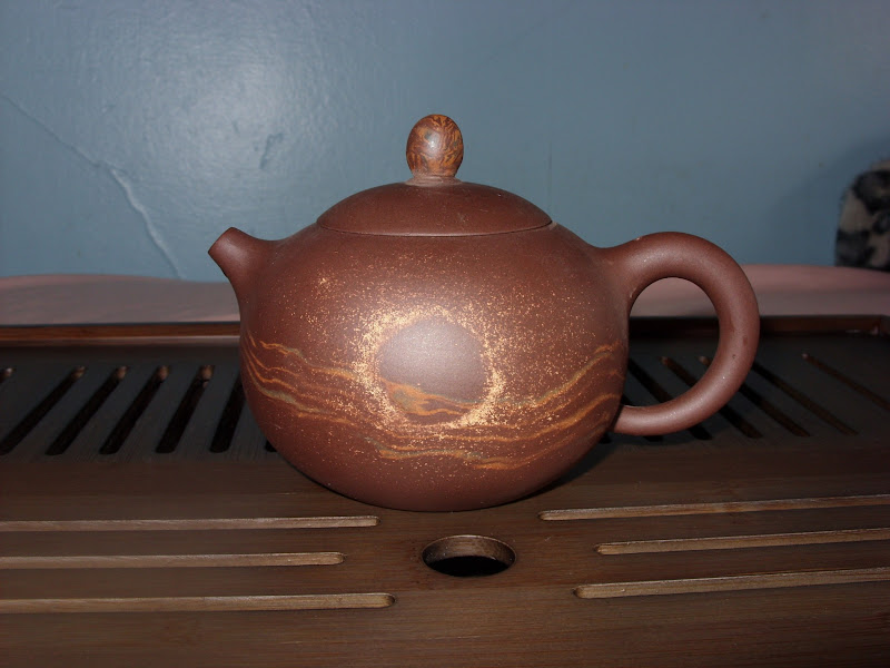 Photo: My first yixing teapot. I purchased it from Seven Cups in AZ and it's dedicated to dan cong oolongs.