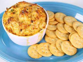 Clinton Kelly's Warm Crab Dip Recipe