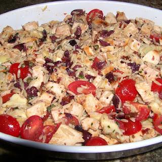 Kieran'S Chicken, Artichoke and Sun Dried Tomato Salad Recipe