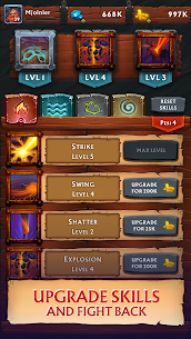 Never Ending Dungeon – IDLE RPG Apk Download For Android and Iphone 7
