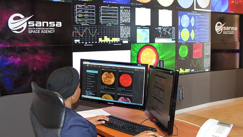 SANSA operates its space weather facility in the Western Cape's Hermanus.