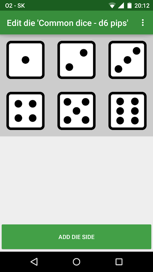 Custom Image Dice- screenshot
