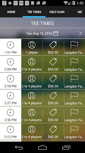 Langdon Farms Tee Times- screenshot thumbnail