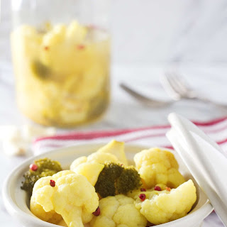 Zesty Curried Probiotic Vegetables.