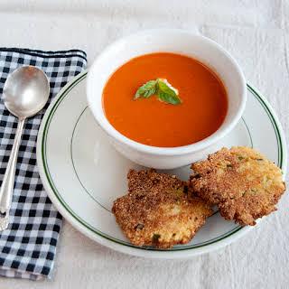 Tomato Roasted Garlic Soup.