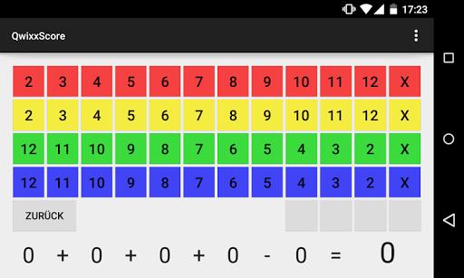 QwixxScore screenshot 1