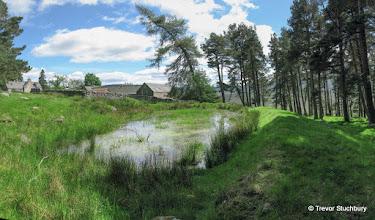 Photo: Mill Pond at Bovaglie, Glen Girnock