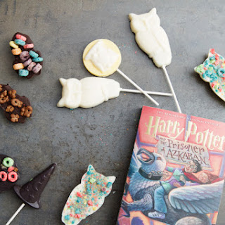 Harry Potter Chocolate Lollipops.