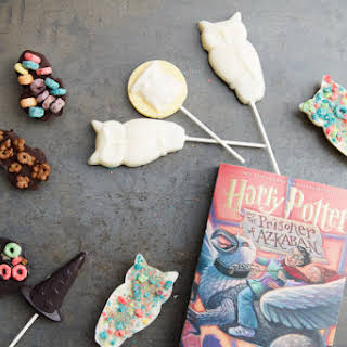 Harry Potter Chocolate Lollipops.
