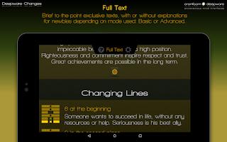 Screenshot of Deepware Changes I Ching