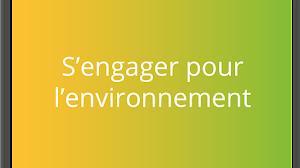 s'engager pour l'environnement