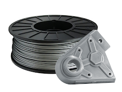 Silver PRO Series PLA Filament - 2.85mm (1kg)