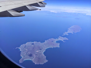 Photo: flying over Ireland. Barron.