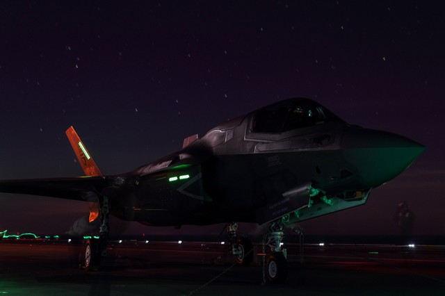 F-35 Lightning fighter jets.