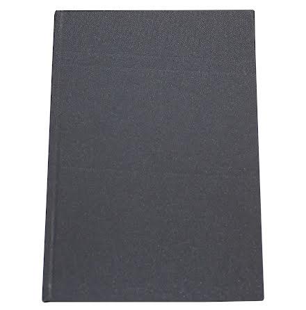 Anteckningsbok Tyg A4 grå