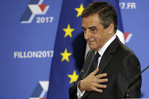 Francois Fillon. Picture: REUTERS
