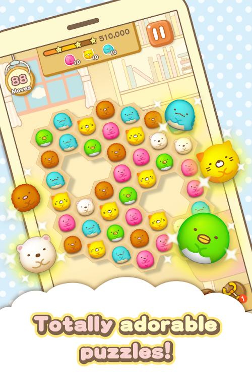 Screenshot 3 Sumikko gurashi-Puzzling Ways 1.8.0 APK MOD